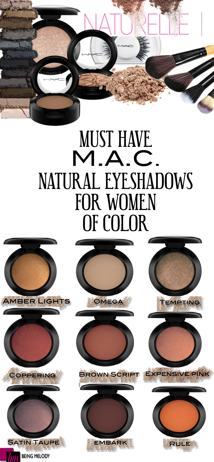 Best eye makeup color for brown eyes